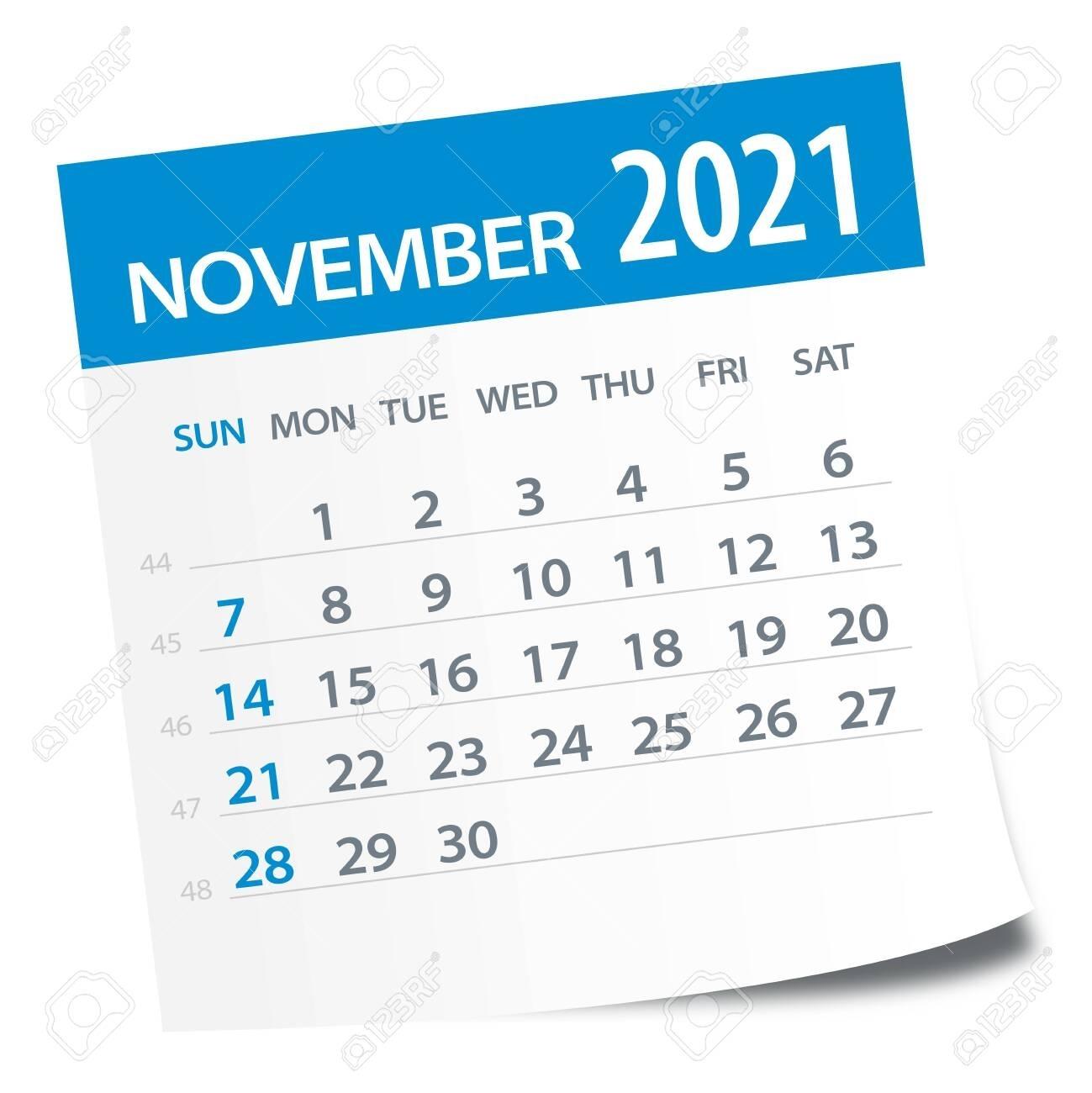 Collect November 2021 Clip Art