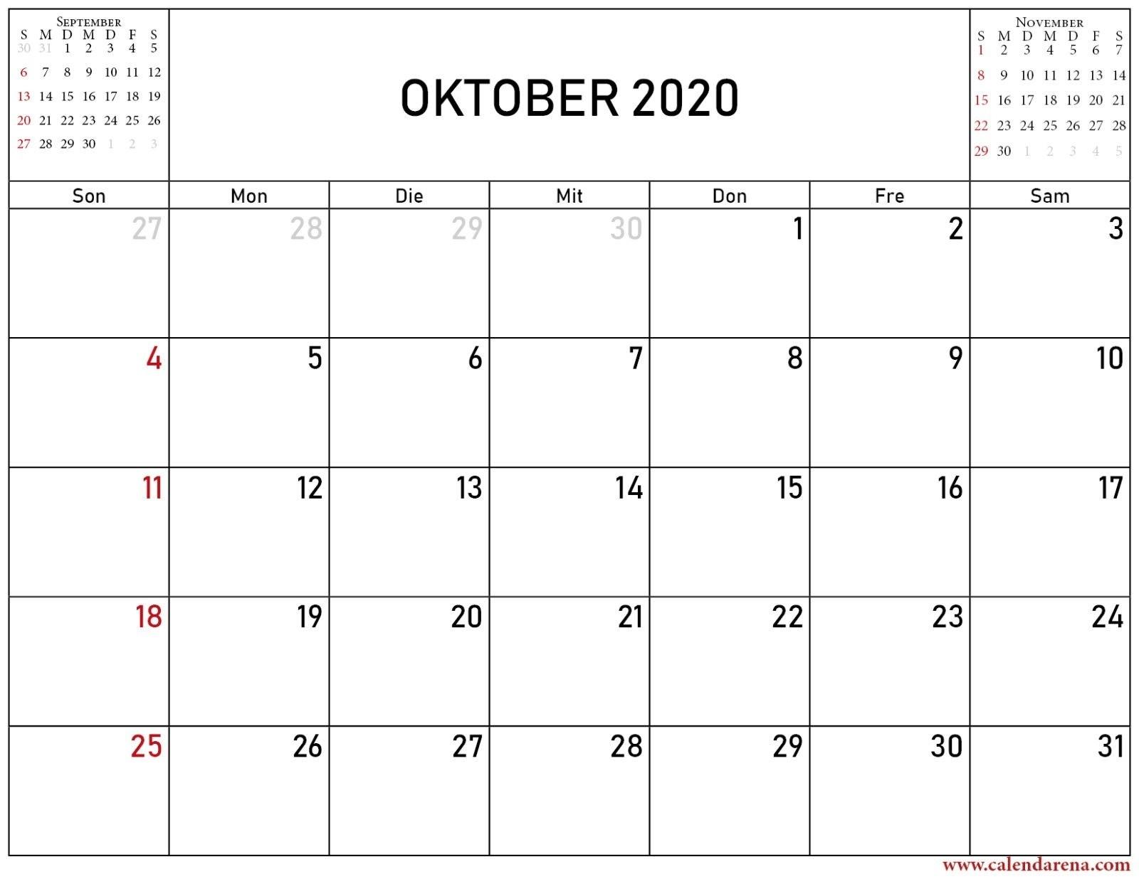 Collect Oktober – Dezember 2021 Kalender