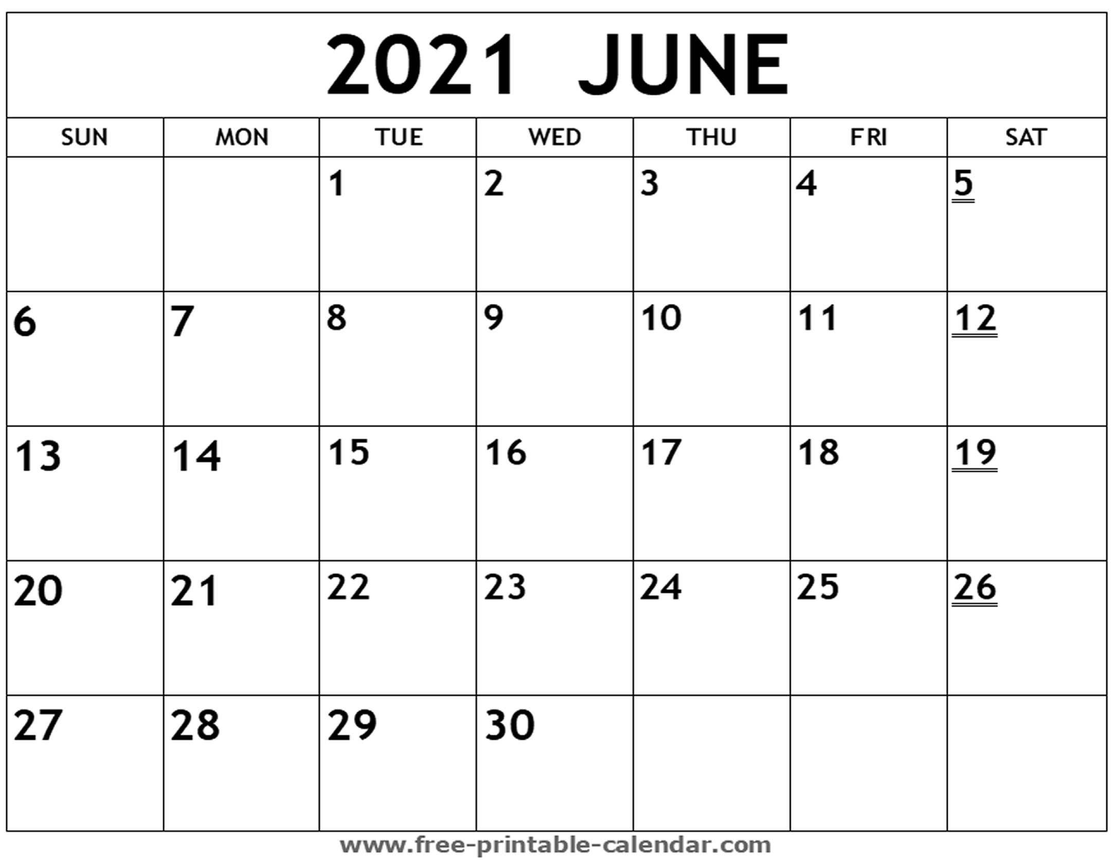 Collect Print Free Calendars Without Downloading 2021