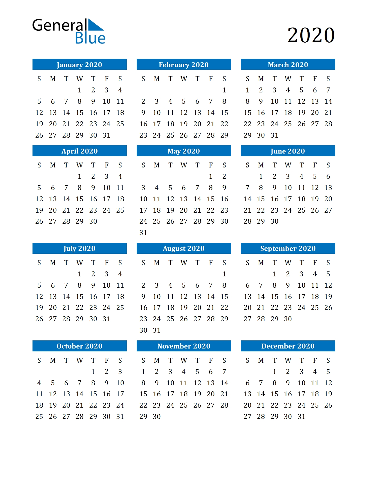 Collect Print Free Monthly 2021 Calendar Without Downloading