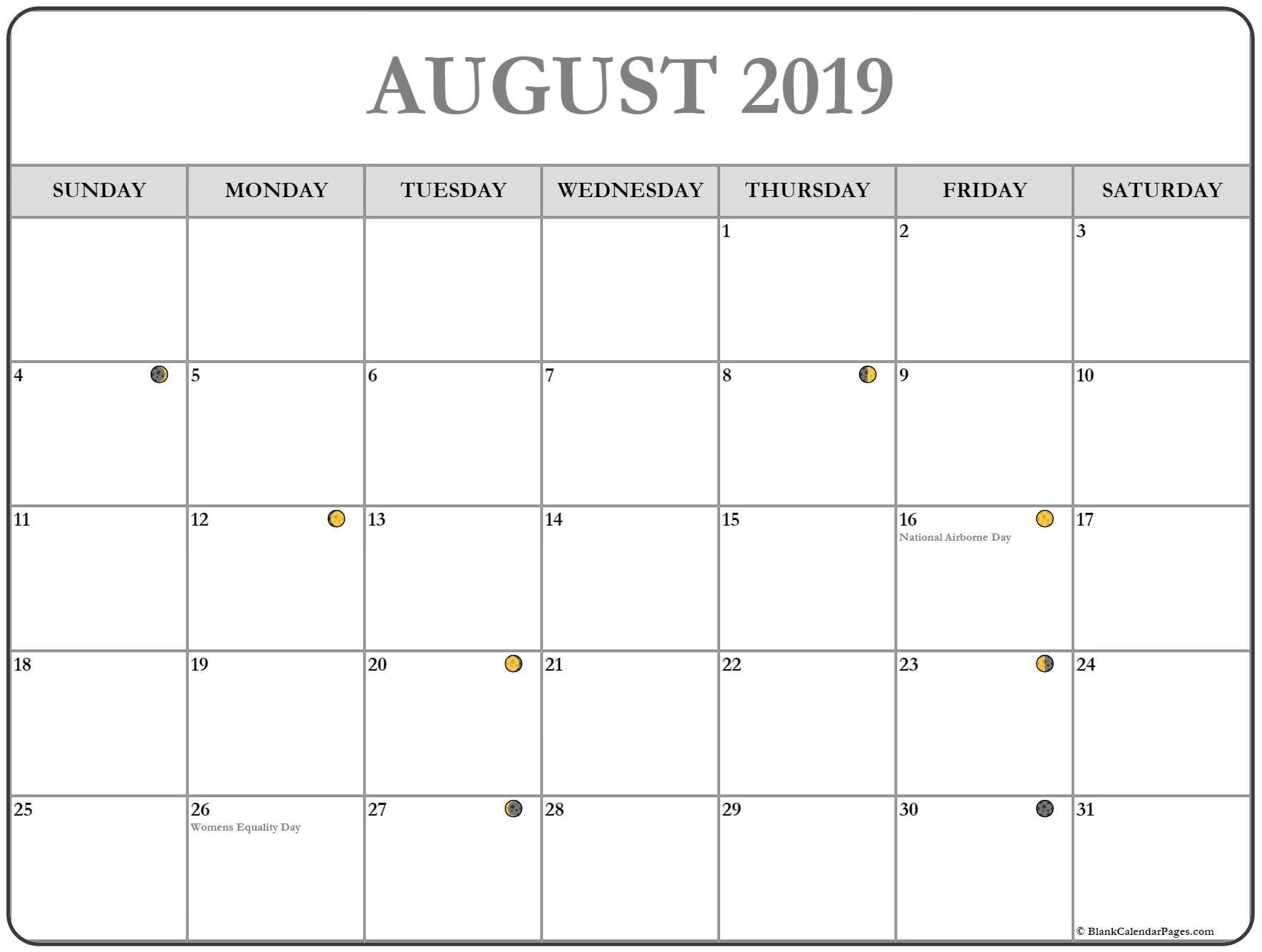 Collect Printable Calendar With Writing Space