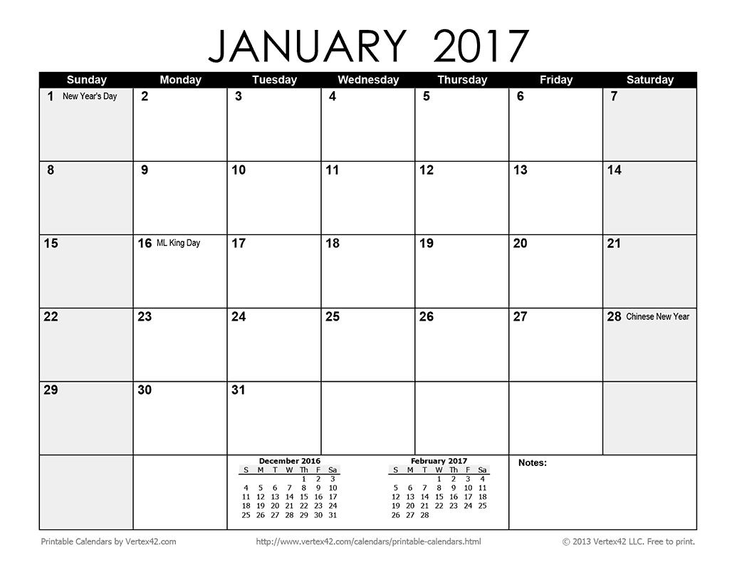 Collect Printable Calendar Without Download