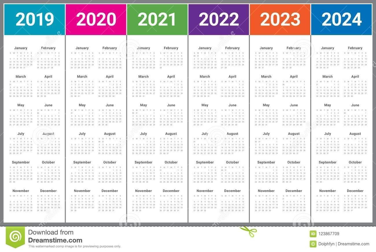 Collect Printable Calendars 2021 2022 2023 2024