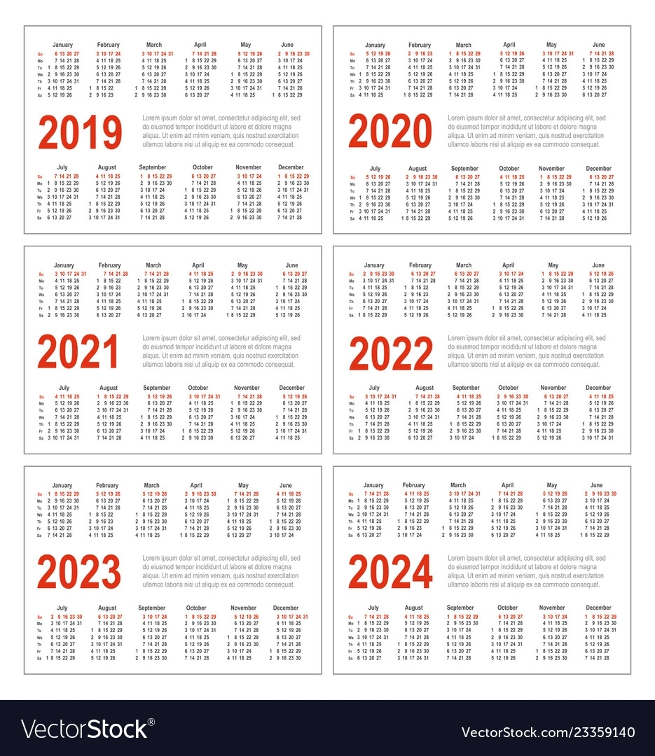 Collect Printable Calendars 2021 2022 2023 2024
