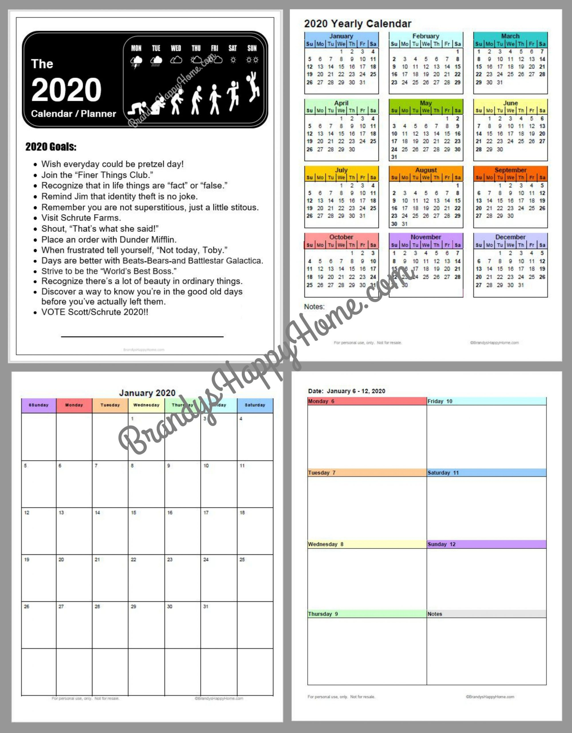 Collect Purse Size Calendars