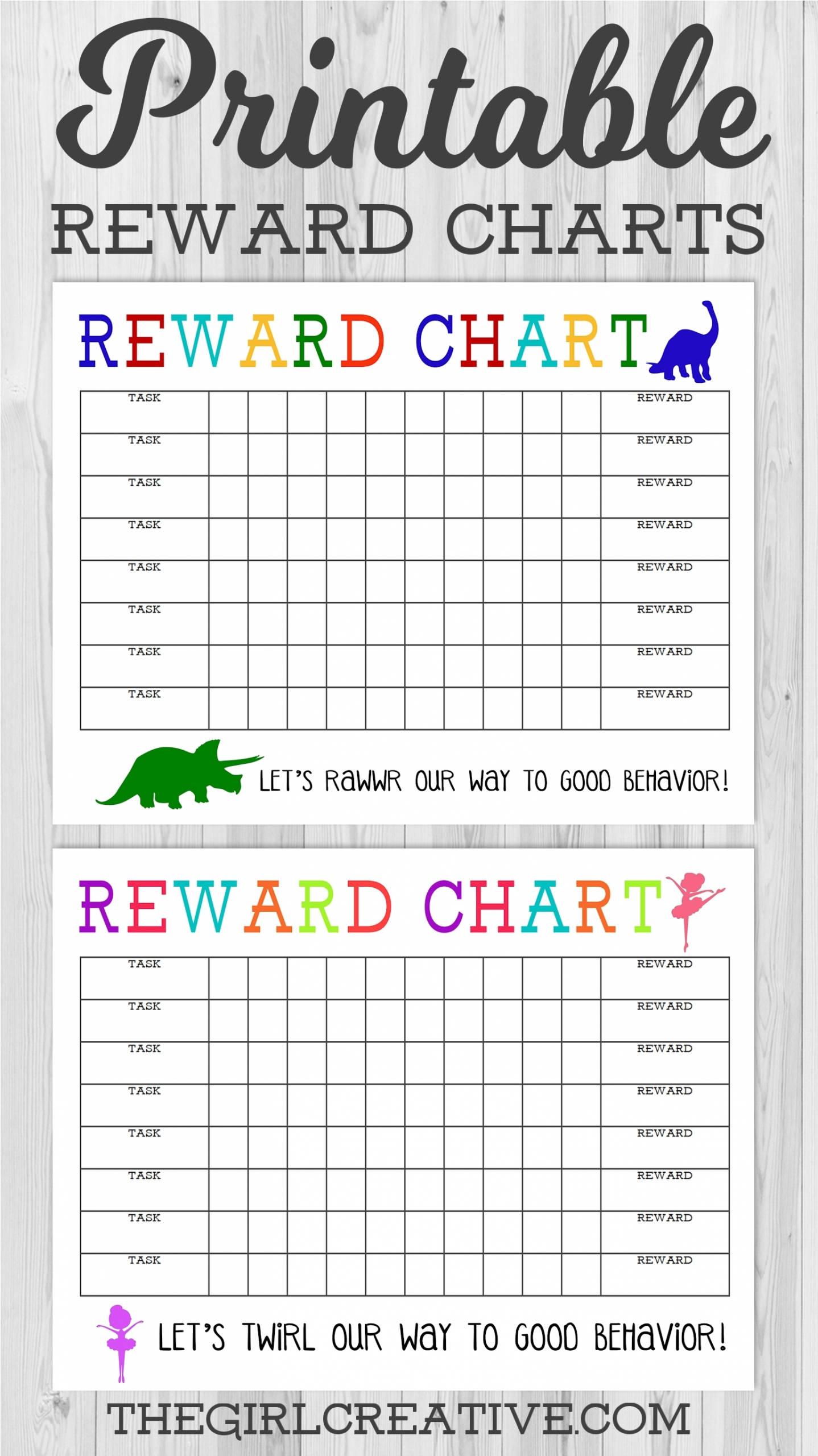 Collect Star Charts To Print For Free Monday To Friday