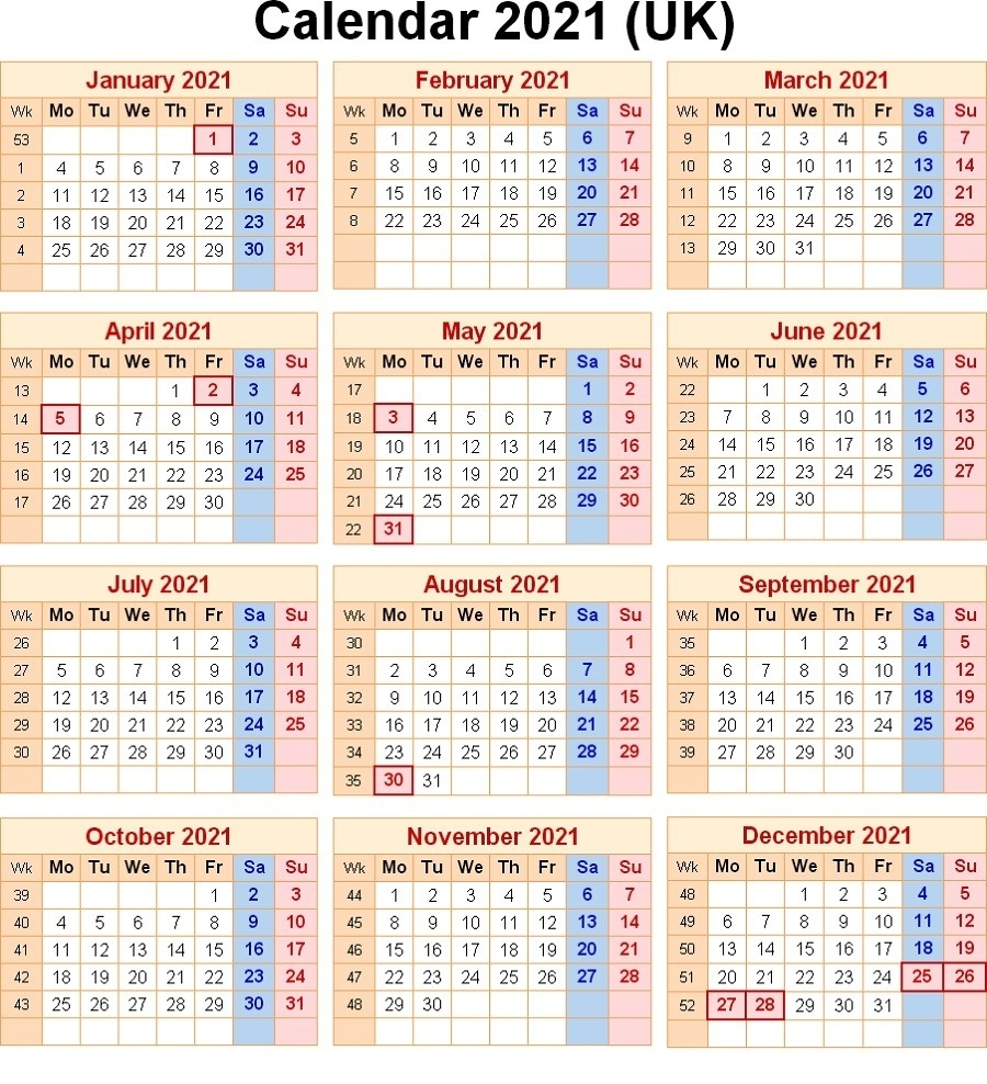 Collect Week Number 2021 Excel