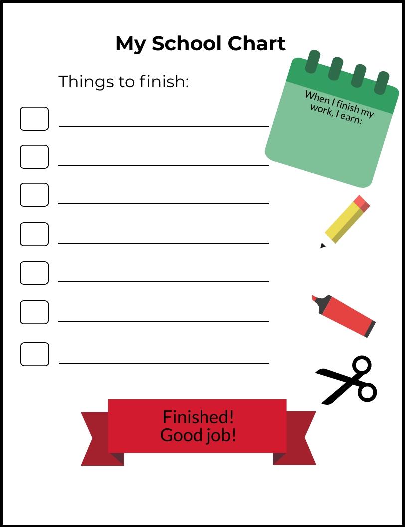 Get 15 Minute Increment Behavioral Chart