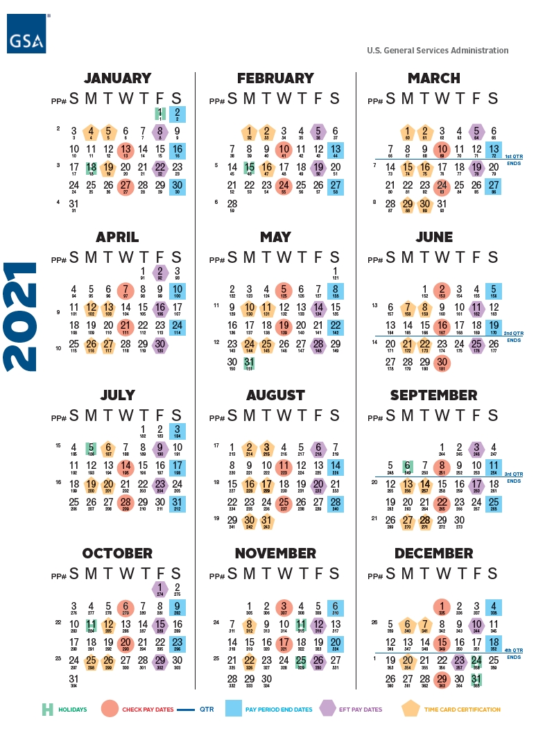 Get 2021 Federal Pay Period Calendar Printable