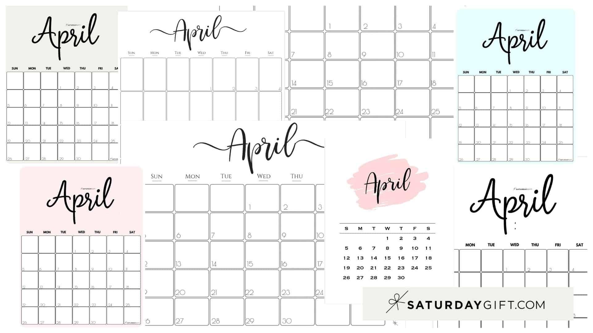 Get 2021 Monthly Calendar Printable