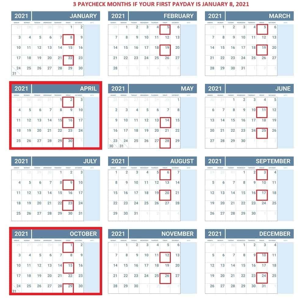 Get 2021 Payroll Calendar Federal Government