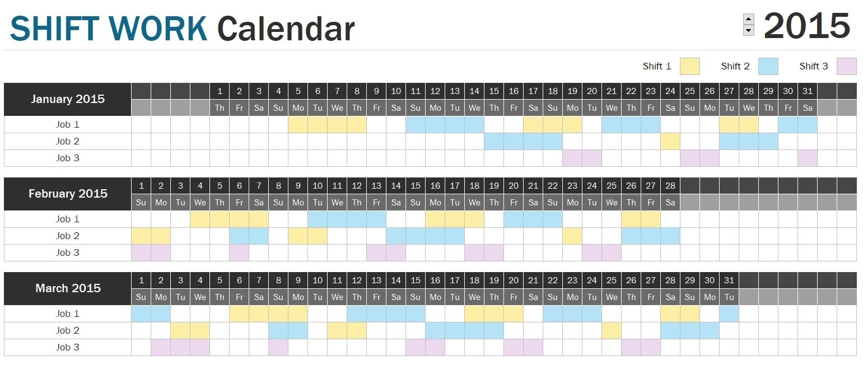 Get 2021 Pitman Work Calendar