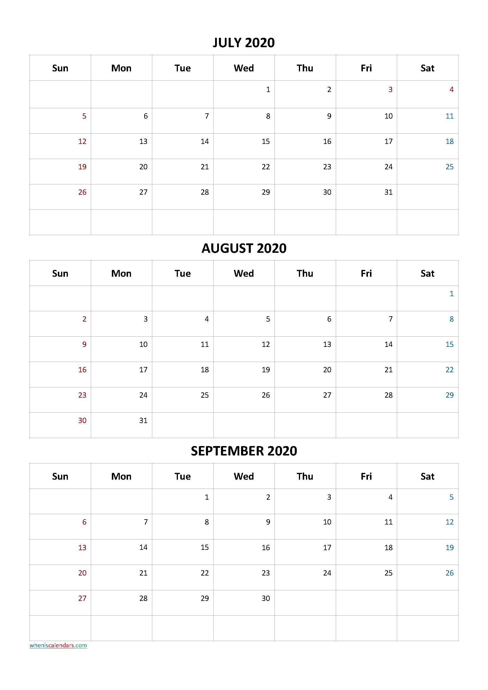 Get 3 Month Printable Calendar 2021 Sept Oct Nov