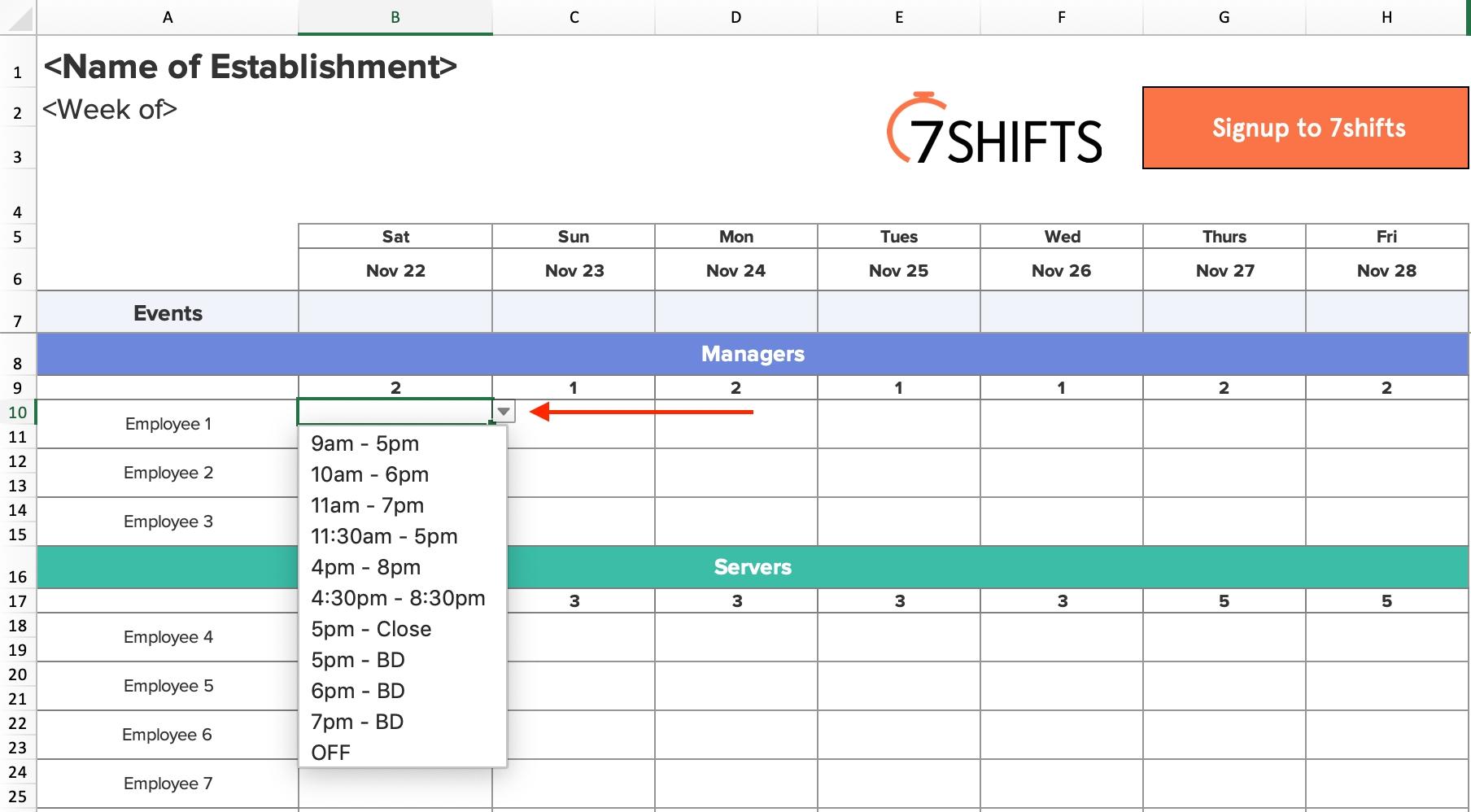 Get 4 3 Work Schedule