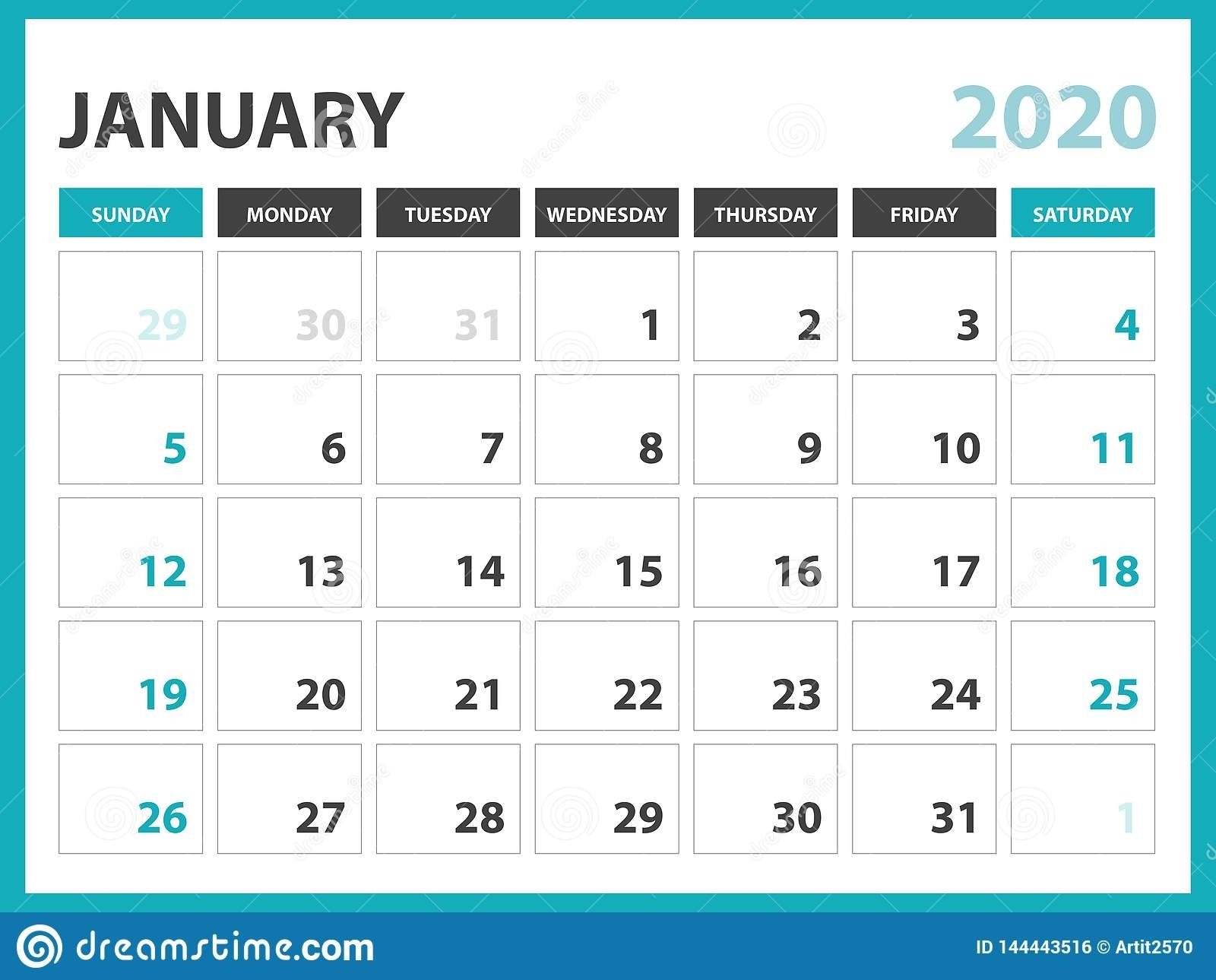 Get 6 Week Schedule Template