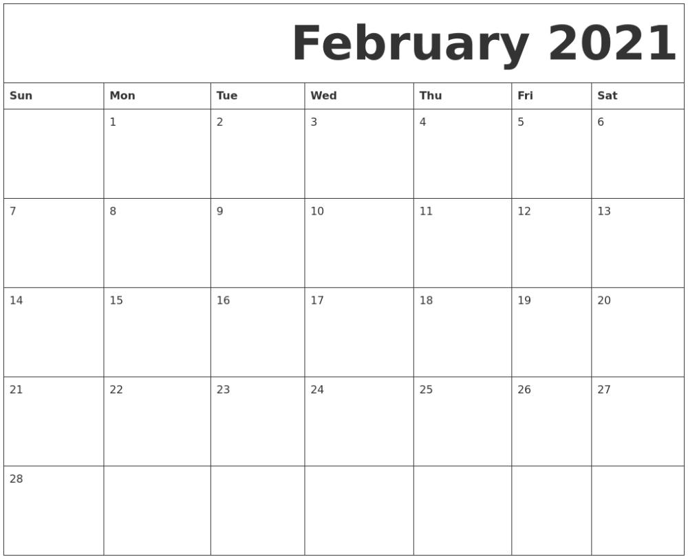 Get 8X11 August 2021 Calendar