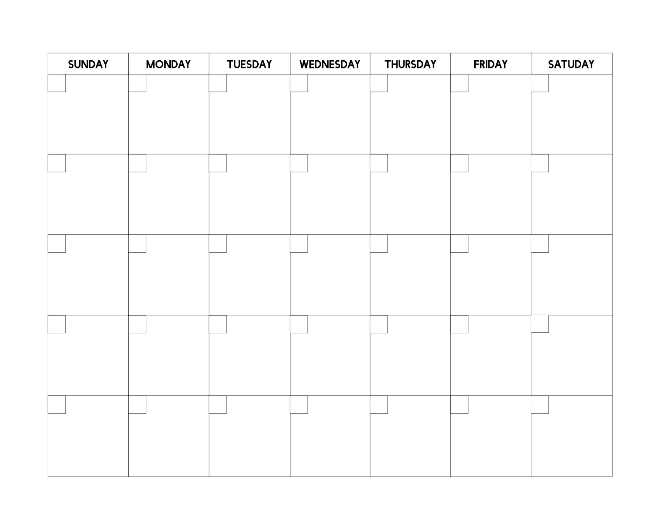 Get Calendar Template Free