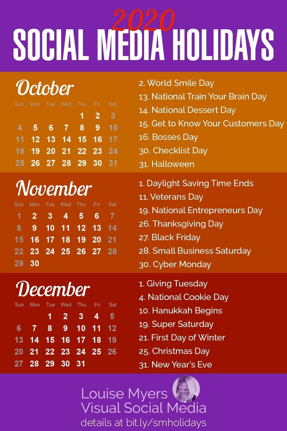 Get Calendar With All Special Days