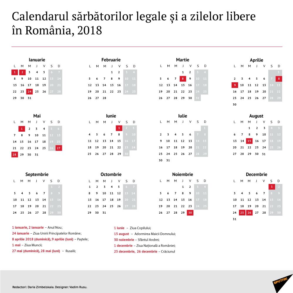 Get Calendar Zile Lucratoare 2021