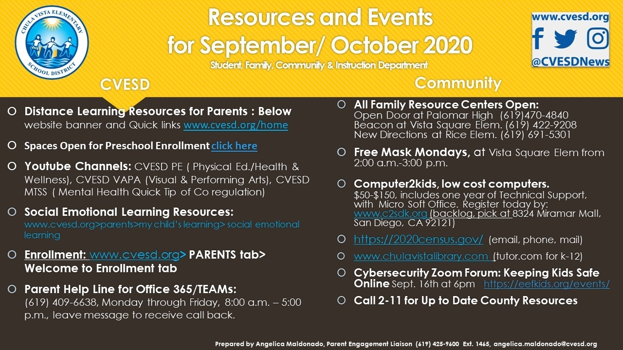 Get Chula Vista Elementary School Calendar 2021