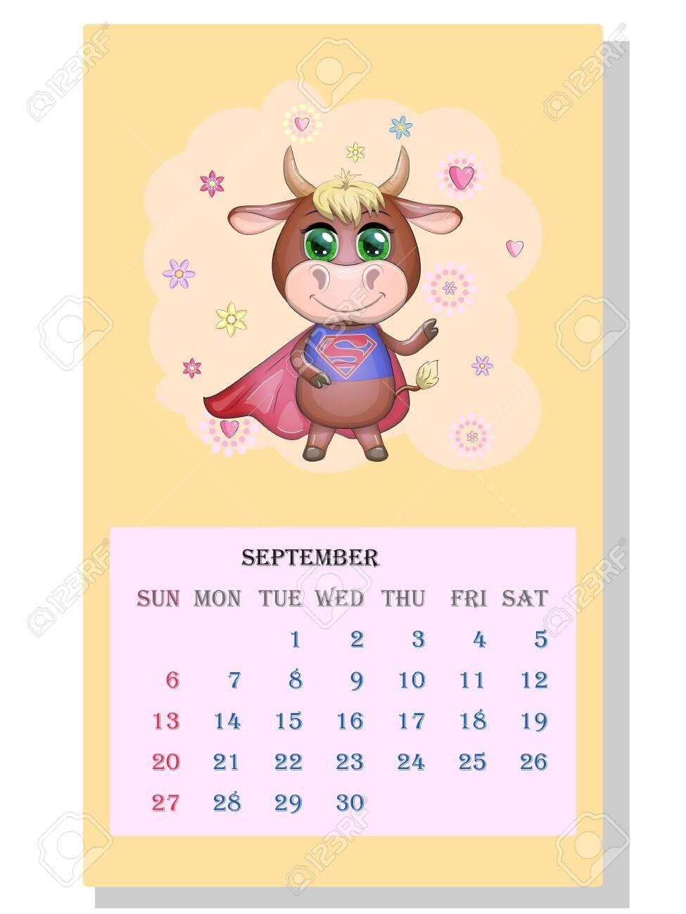 Get Clip Art September Calendar 2021