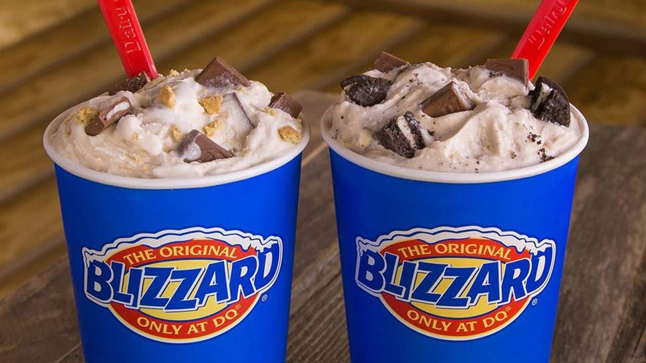 Get Dairy Queen Blizzard Of The Month September 2021
