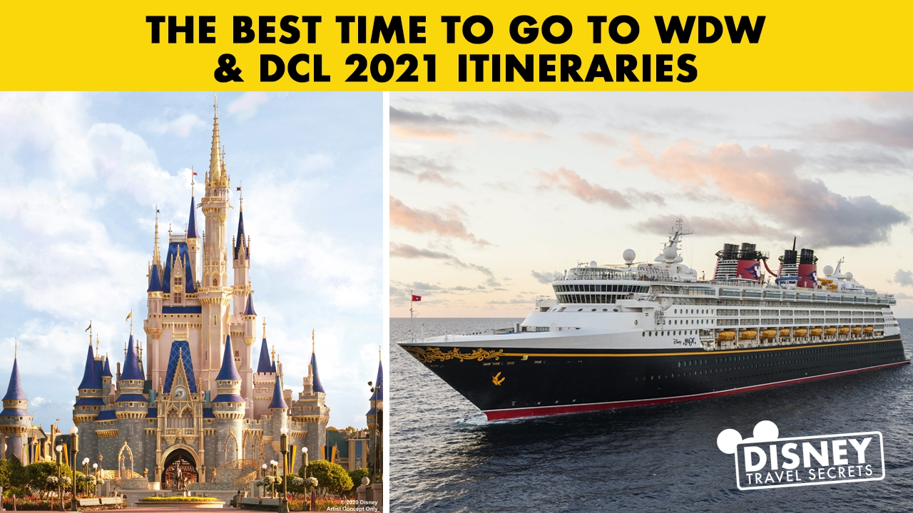 Get Disney World Itinerary 2021