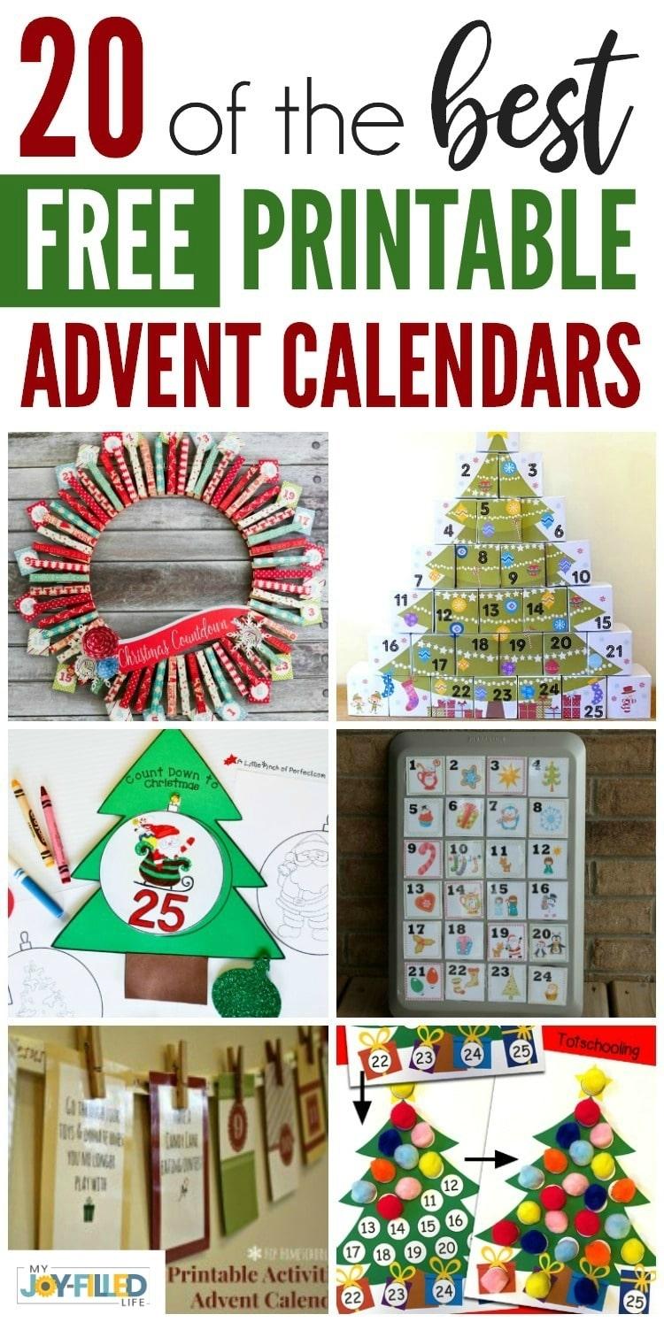 Get Diy Advent Calendars Verses And Figures