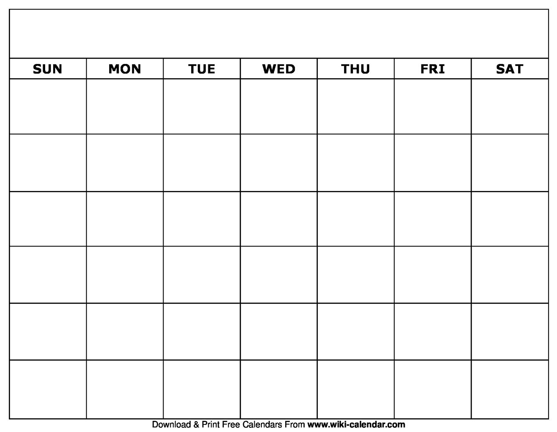 Get Fill In Calendar