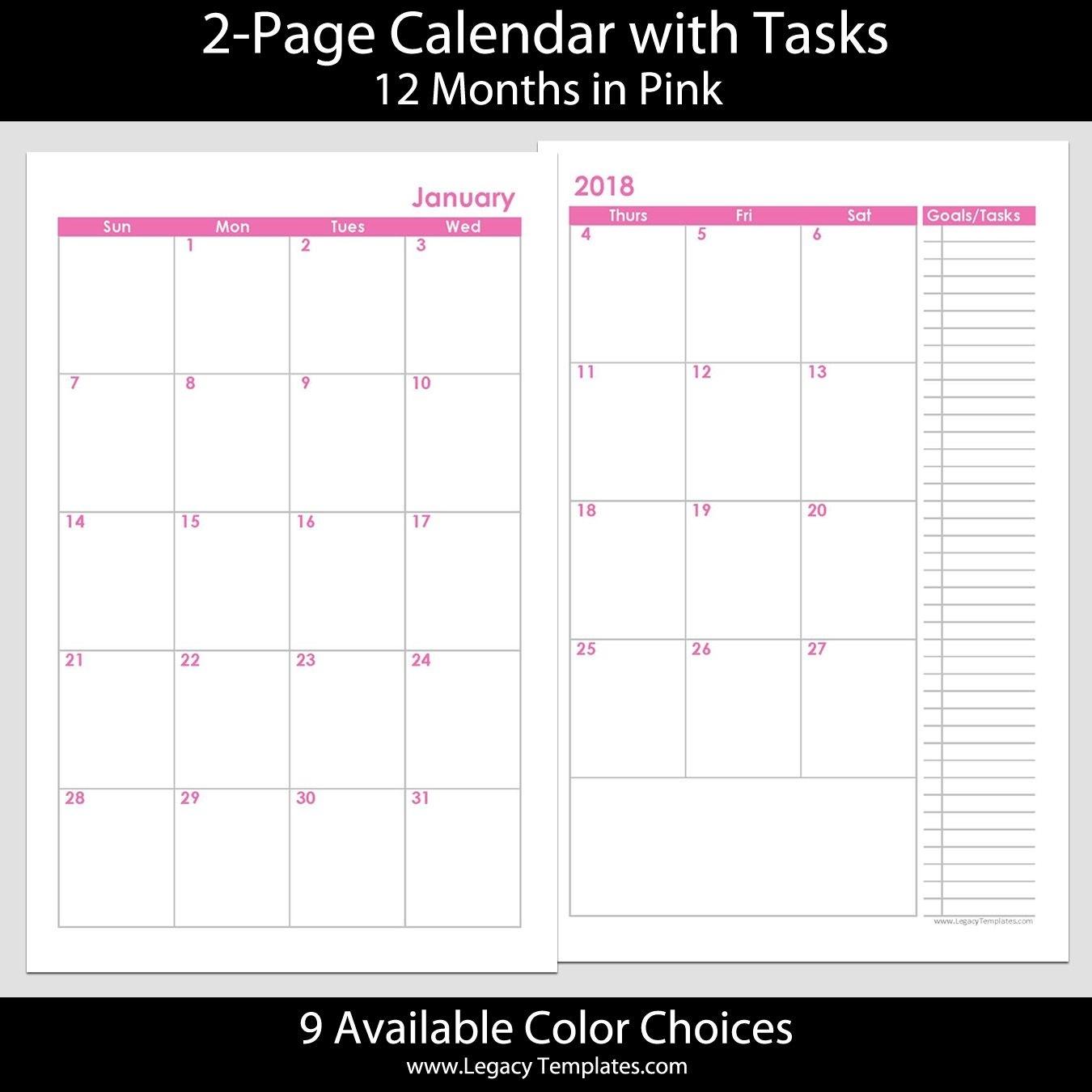 Get Free 5X8 Weekly Planner Printables