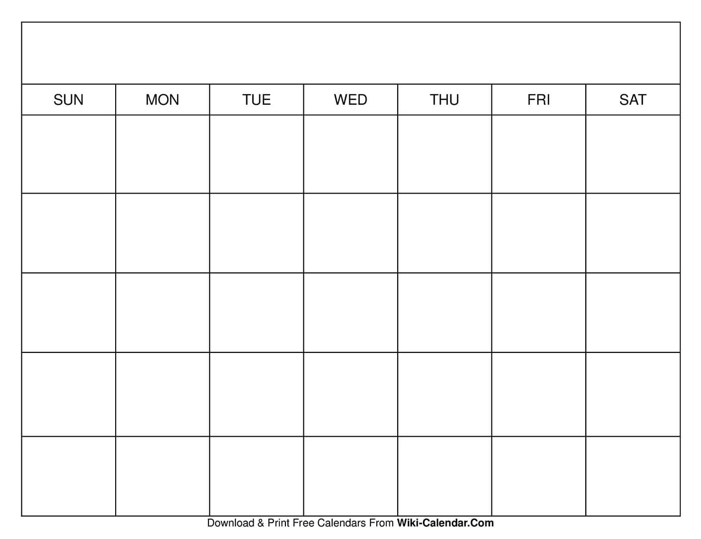 Get Free Printable Calendar No Download Required