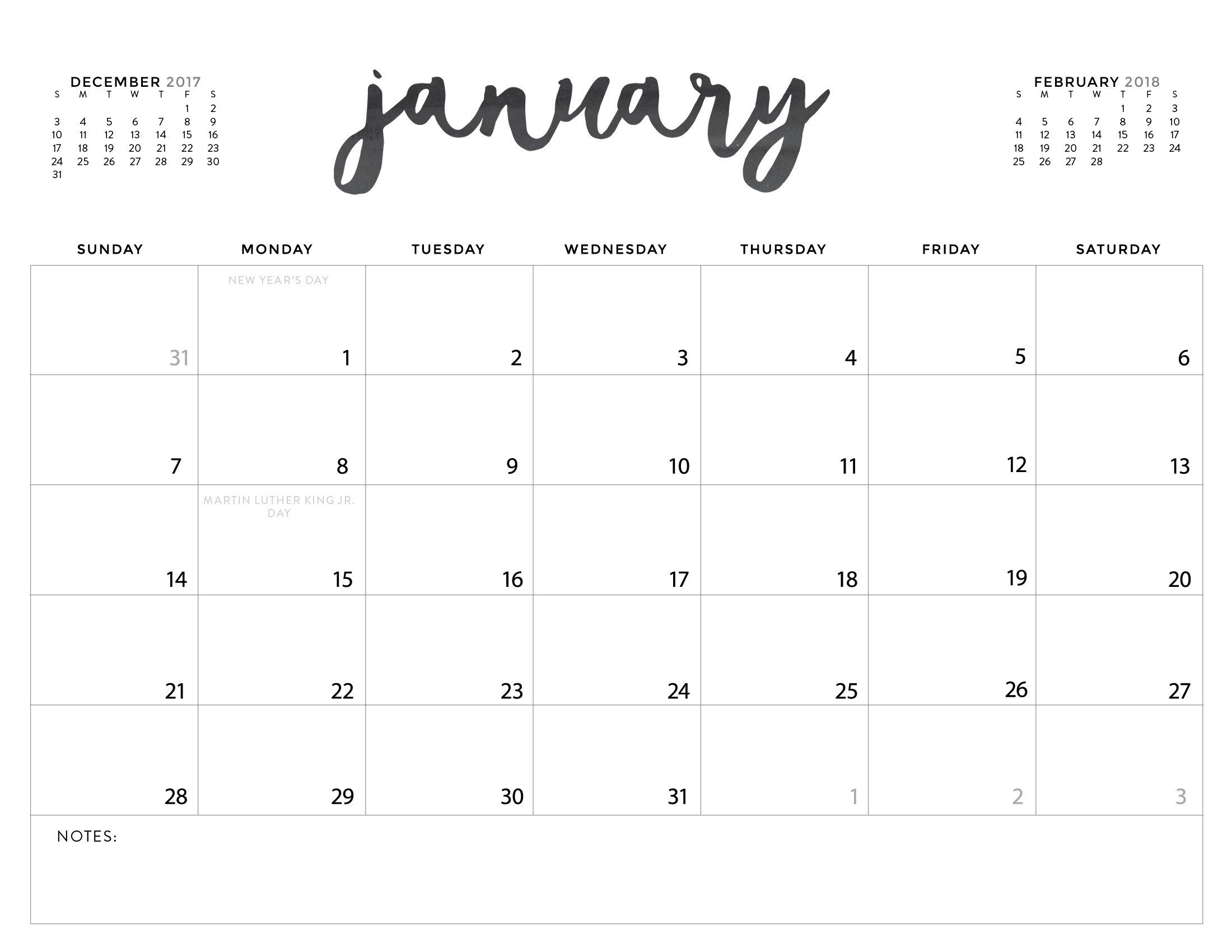 Get Free Printable Calendar With Lines On Dates
