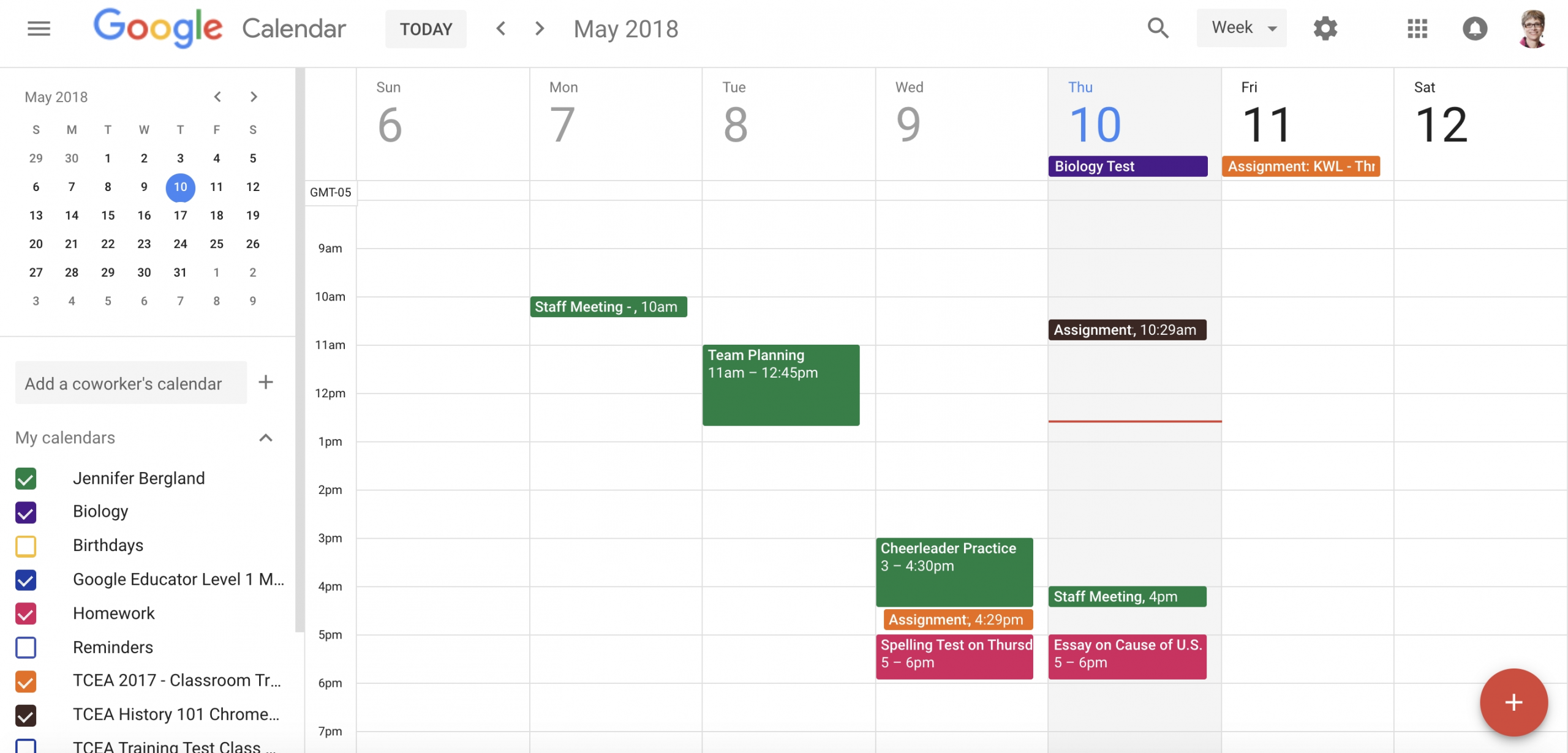 Get Google Images Calendar