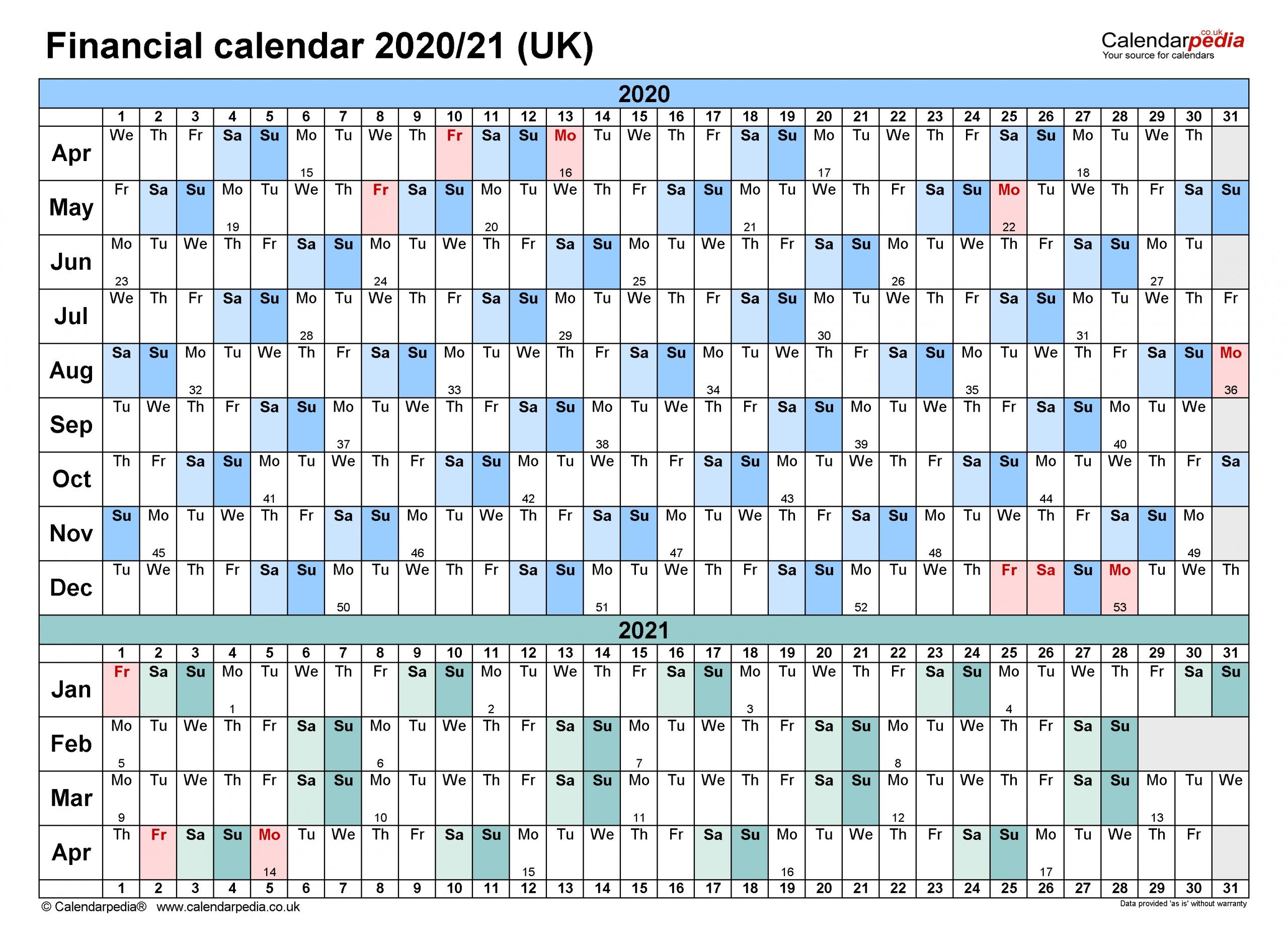 Get Hmrc Tax Year Calendar 2021