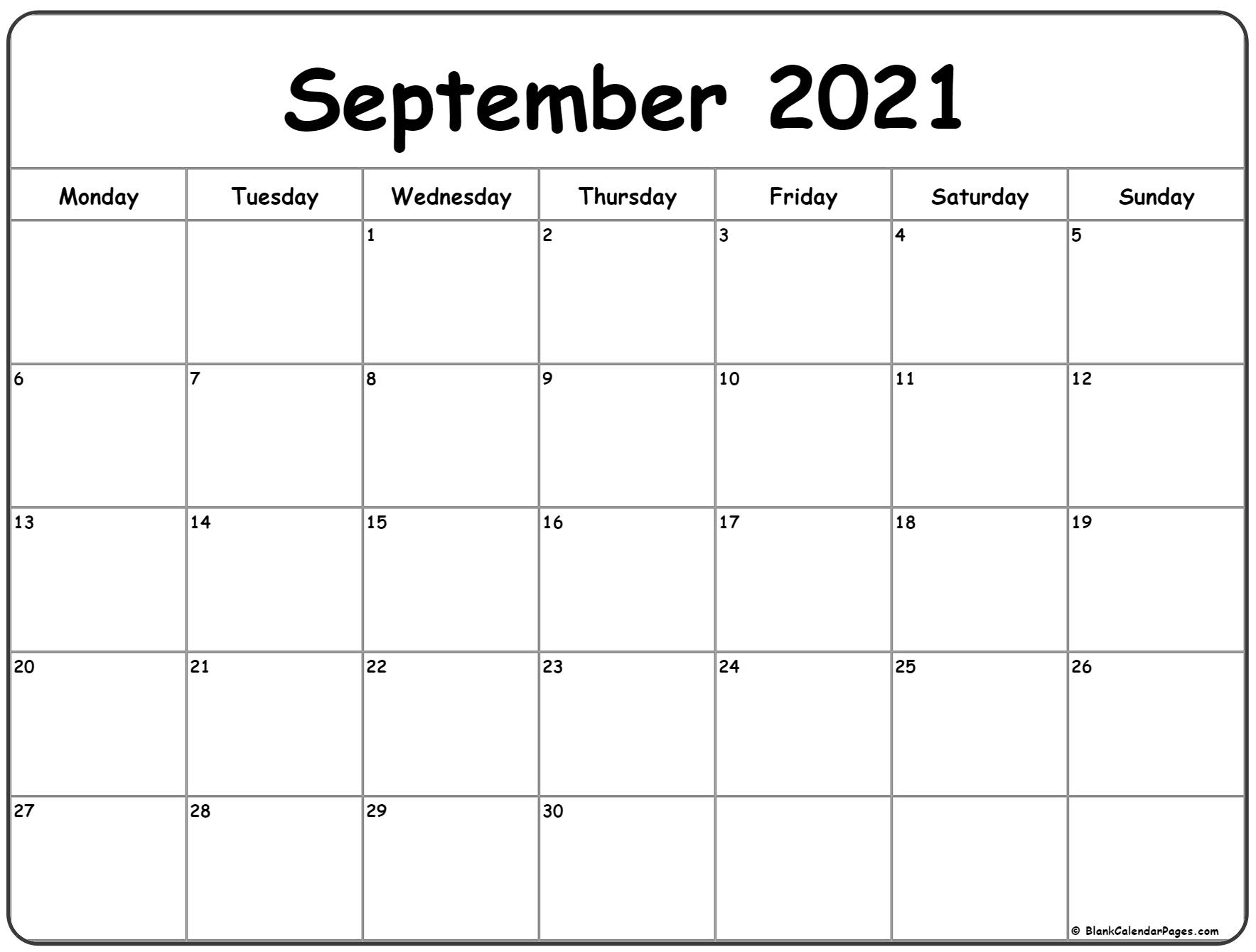 Get June - September 2021 Calendar Printable Free