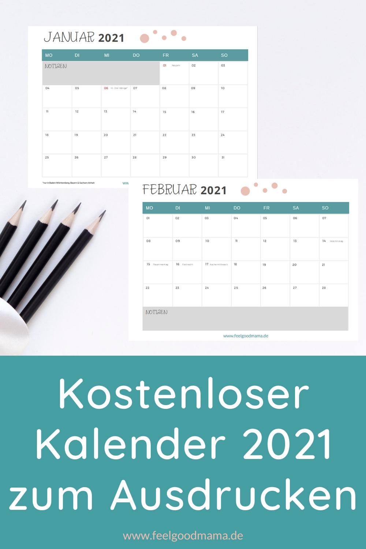 Get Kalender 2021 Zum Ausdrucken Kostenlos