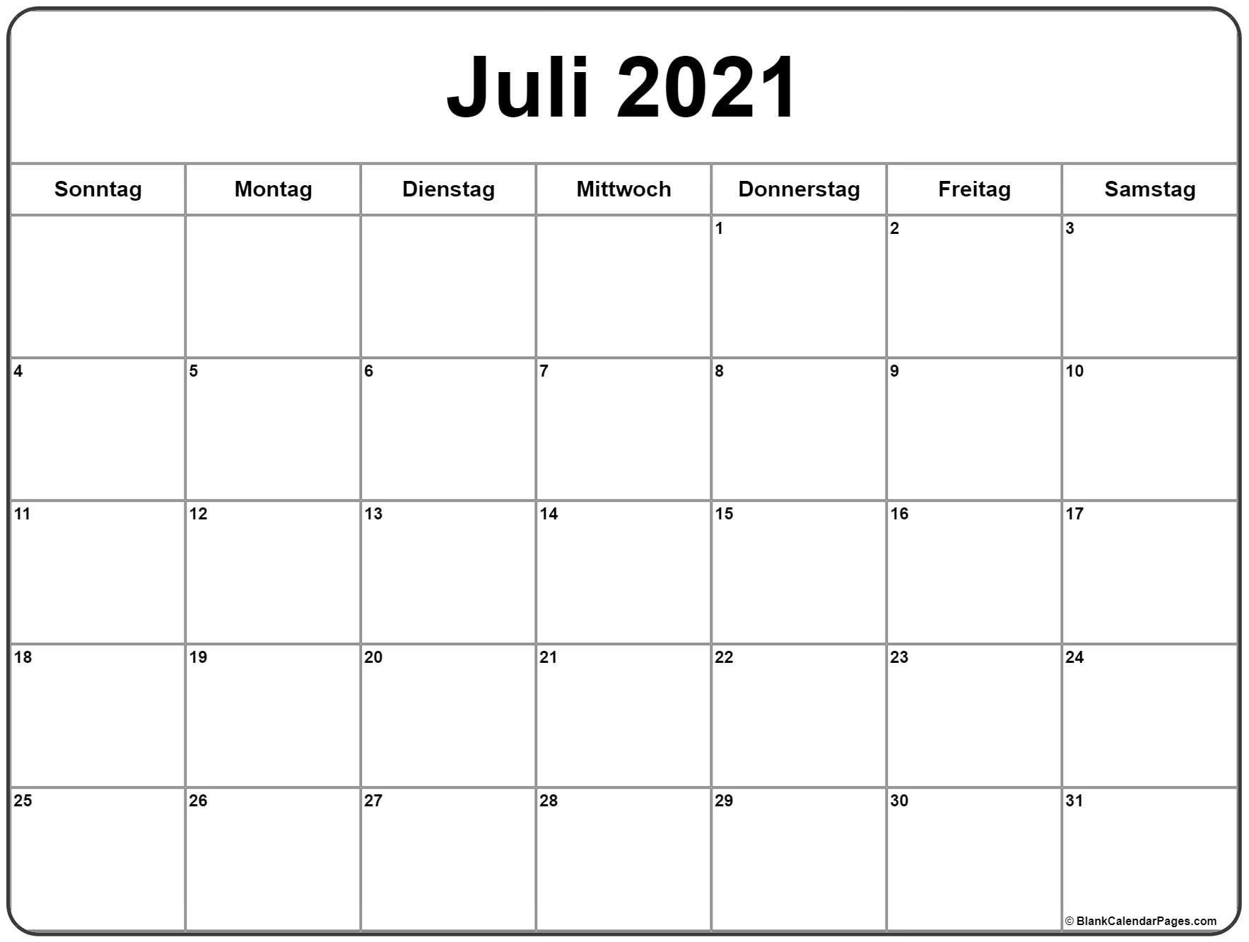 Get Kalender Juli 2021