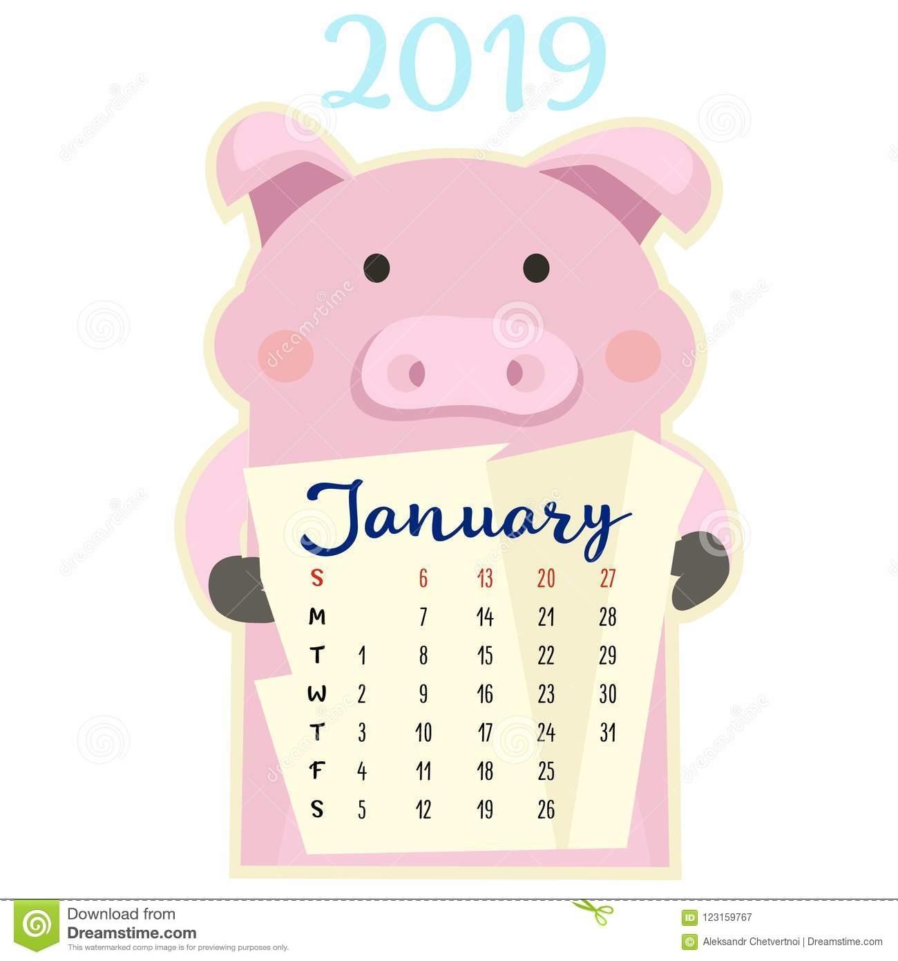 Get Kalender Met Varkens