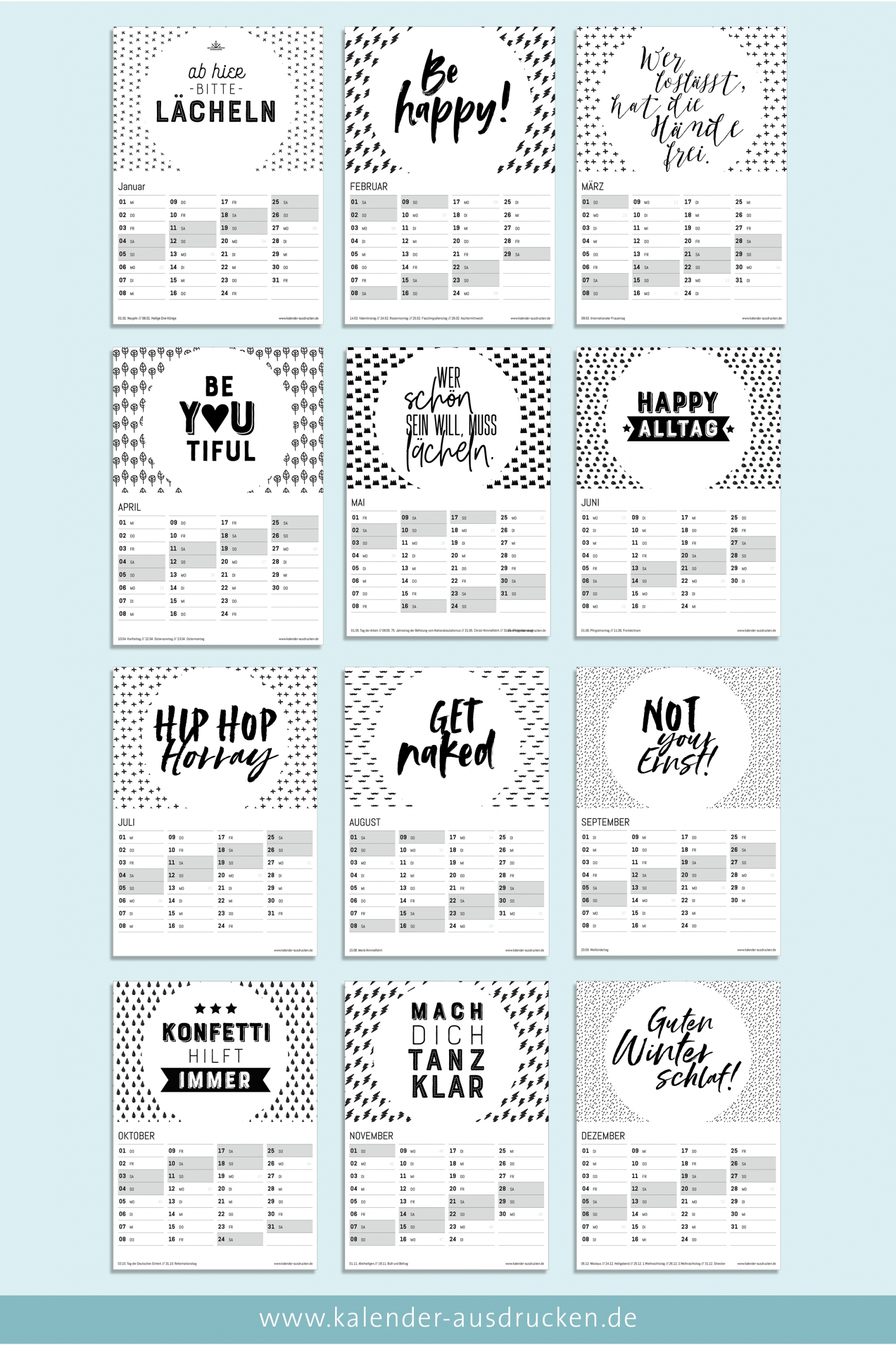 Get Kalender Zum Ausdrucken