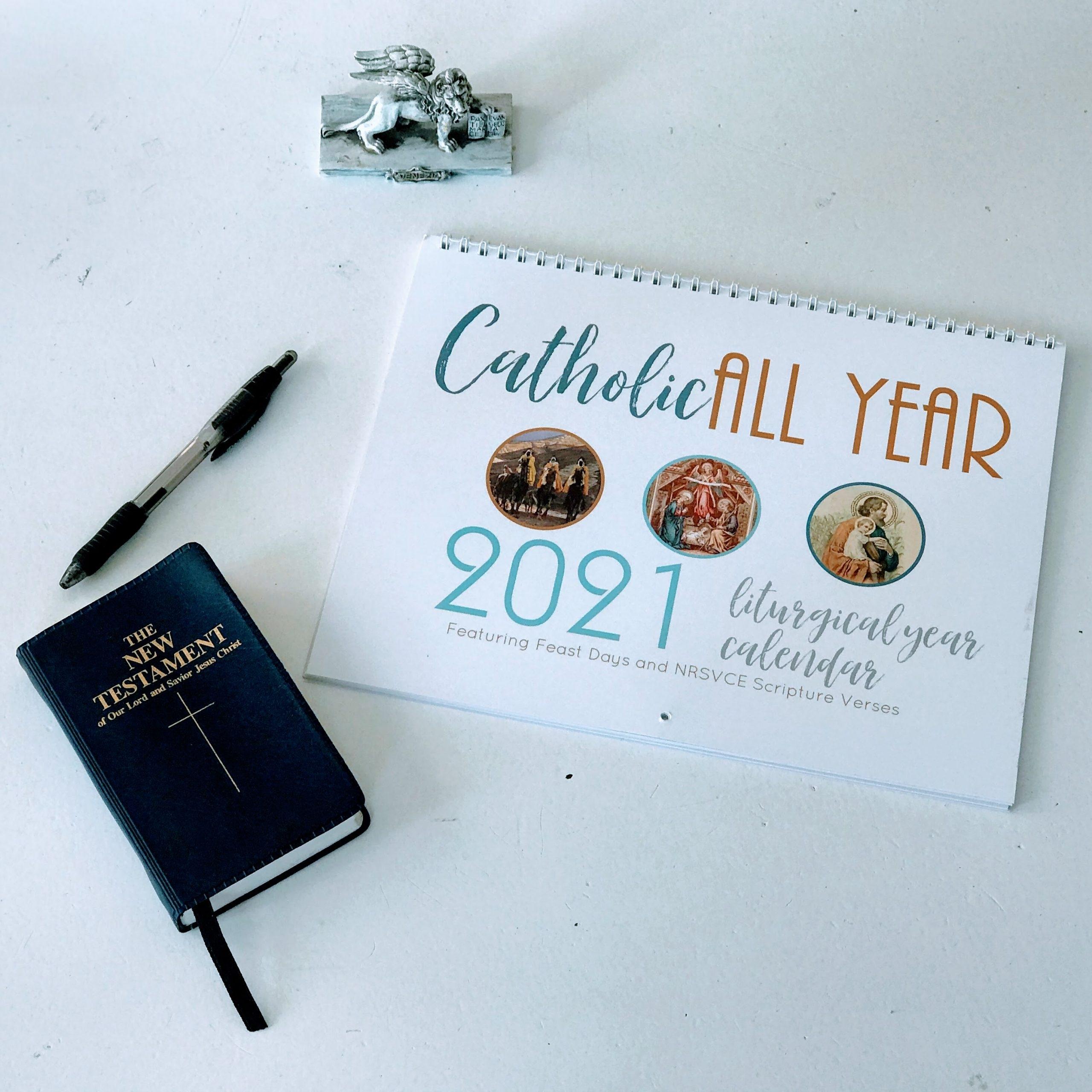 Get Liturgical Calendar 2021 Catholic Pdf