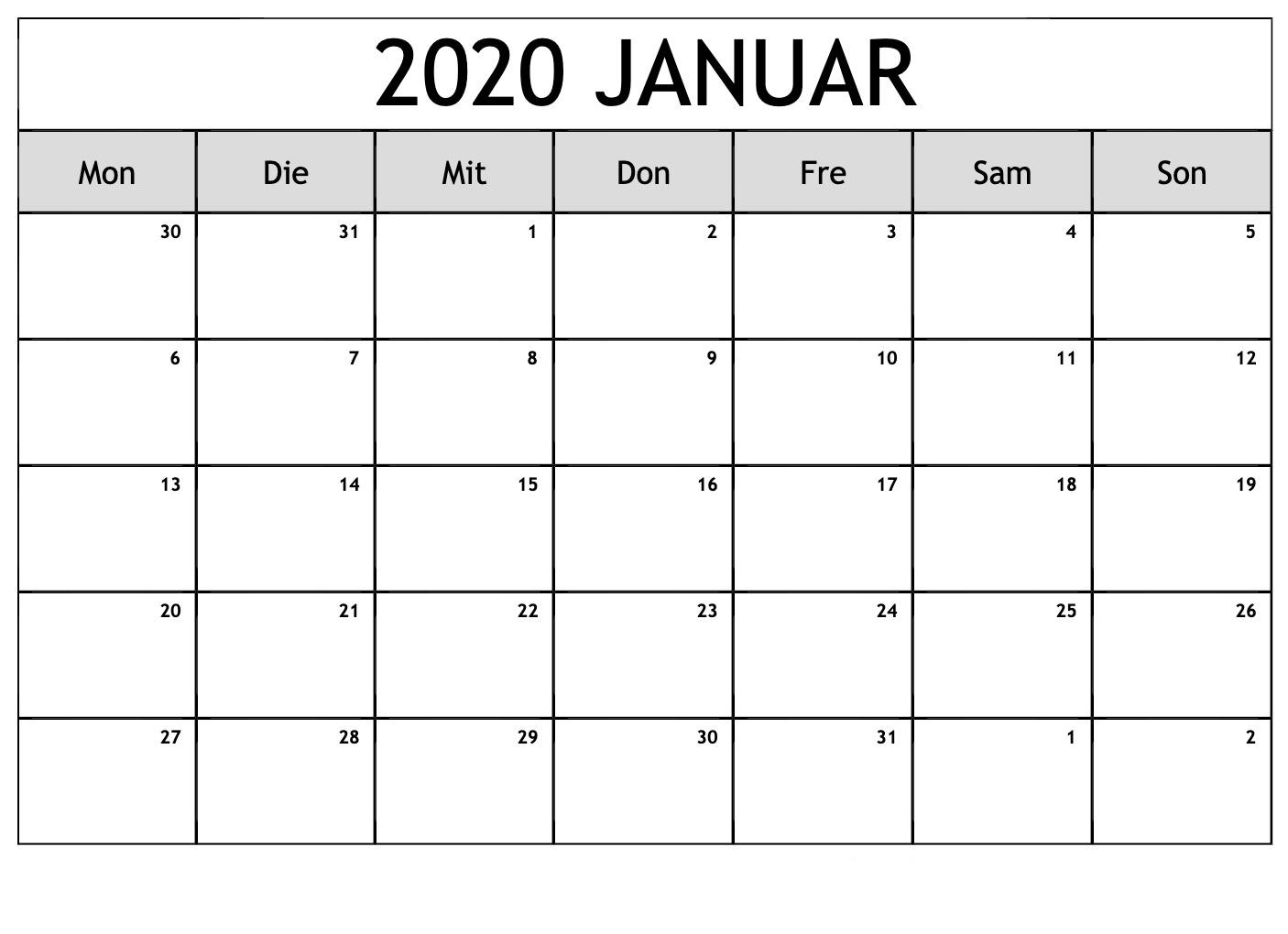 Get Monatsplaner Zum Ausdrucken 209
