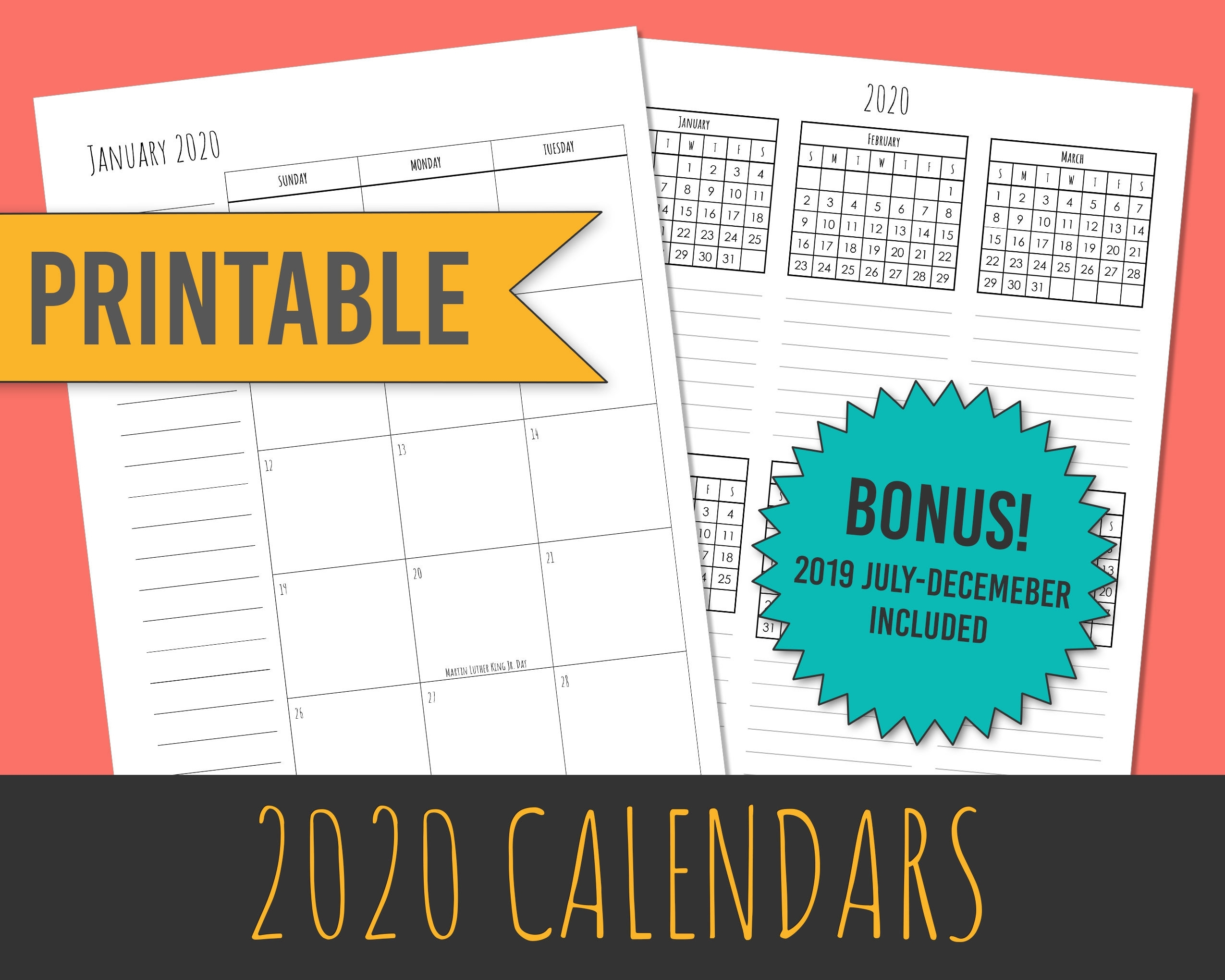 Get Month At A Glance 202