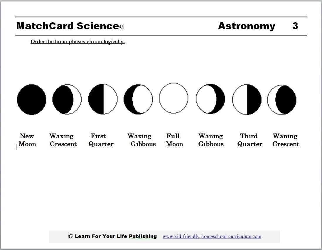 Get Moon Phases Calendar For Kids