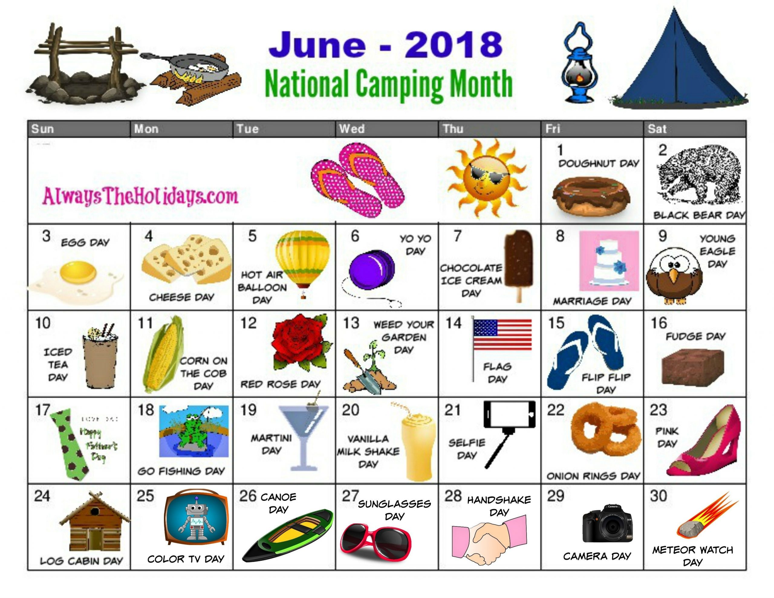 Get National Days In June