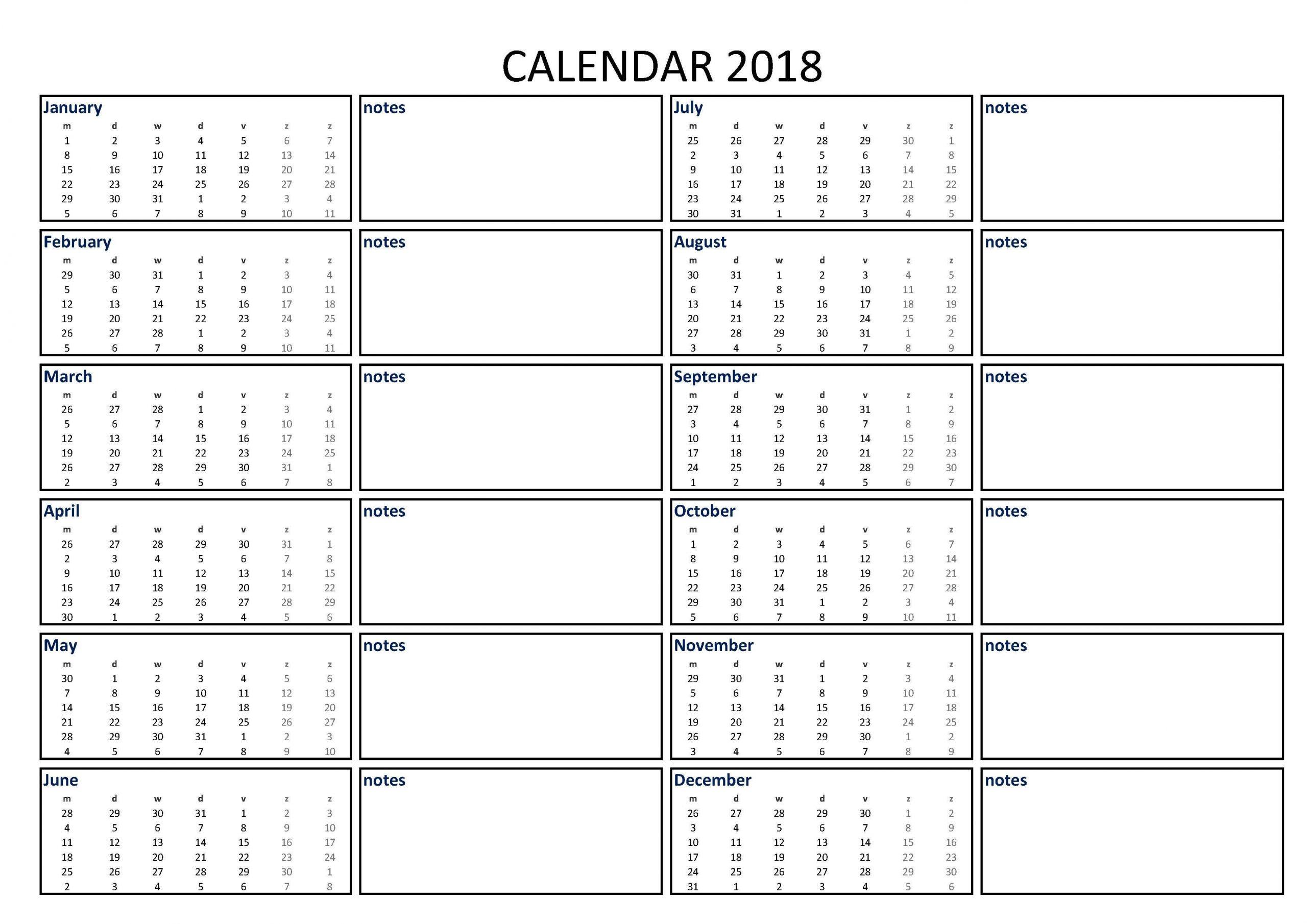 Get Pocket Sized Calendar Excel
