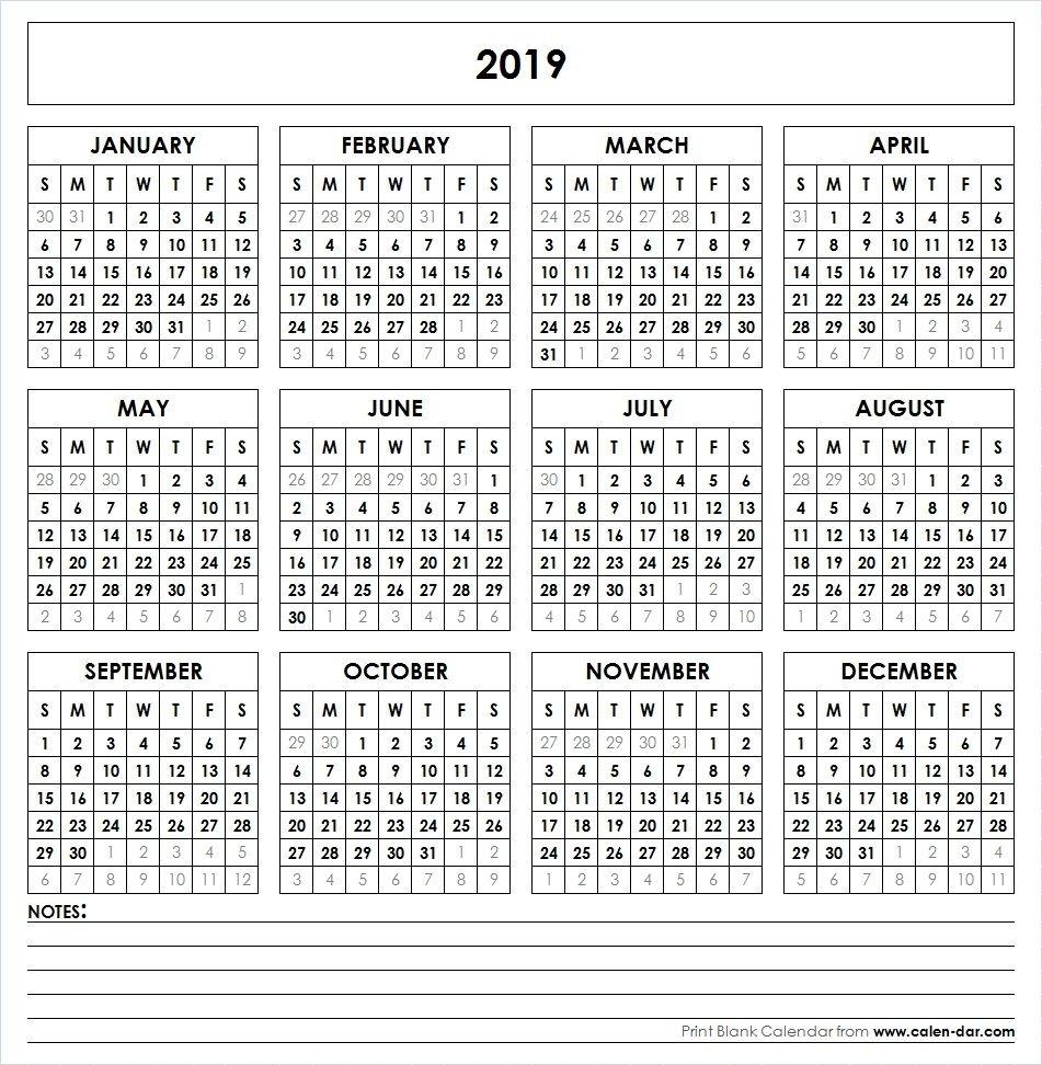 Get Printable 8.5X11 Calendar