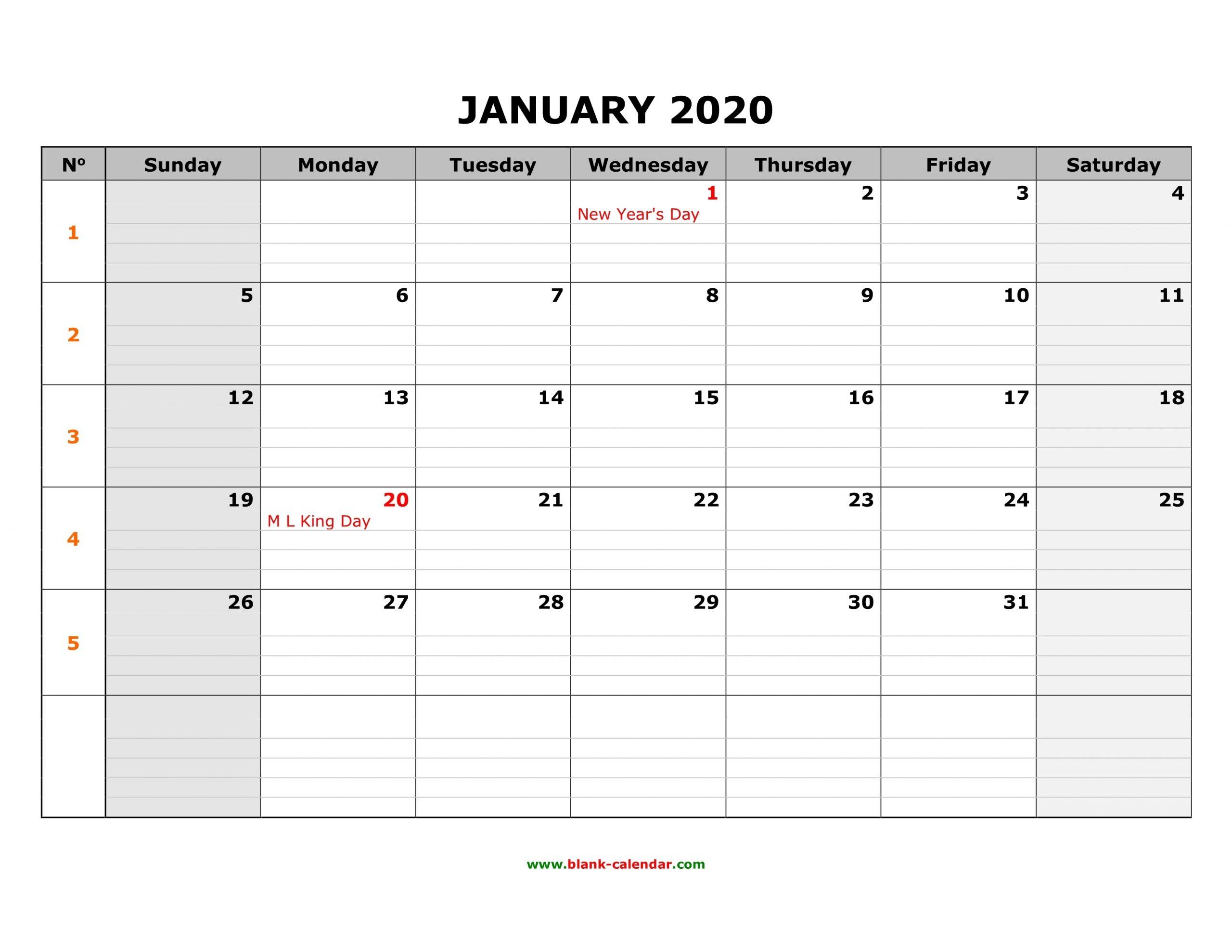 Get Printable 8X11 Bw Yearly Calendar