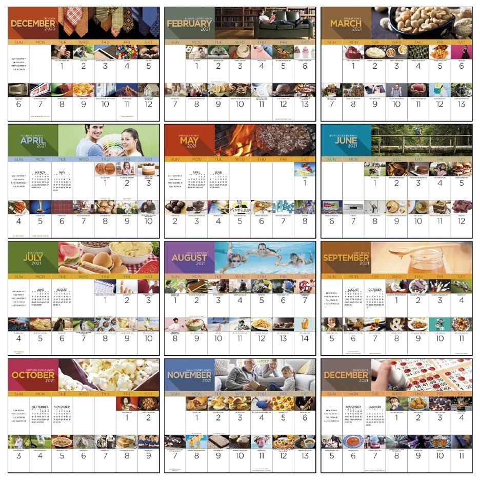 Get Printable Calendar 2021 National Days