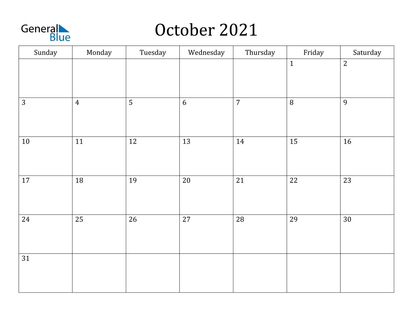 Get Printable Calendar Aug Sept Oct 2021