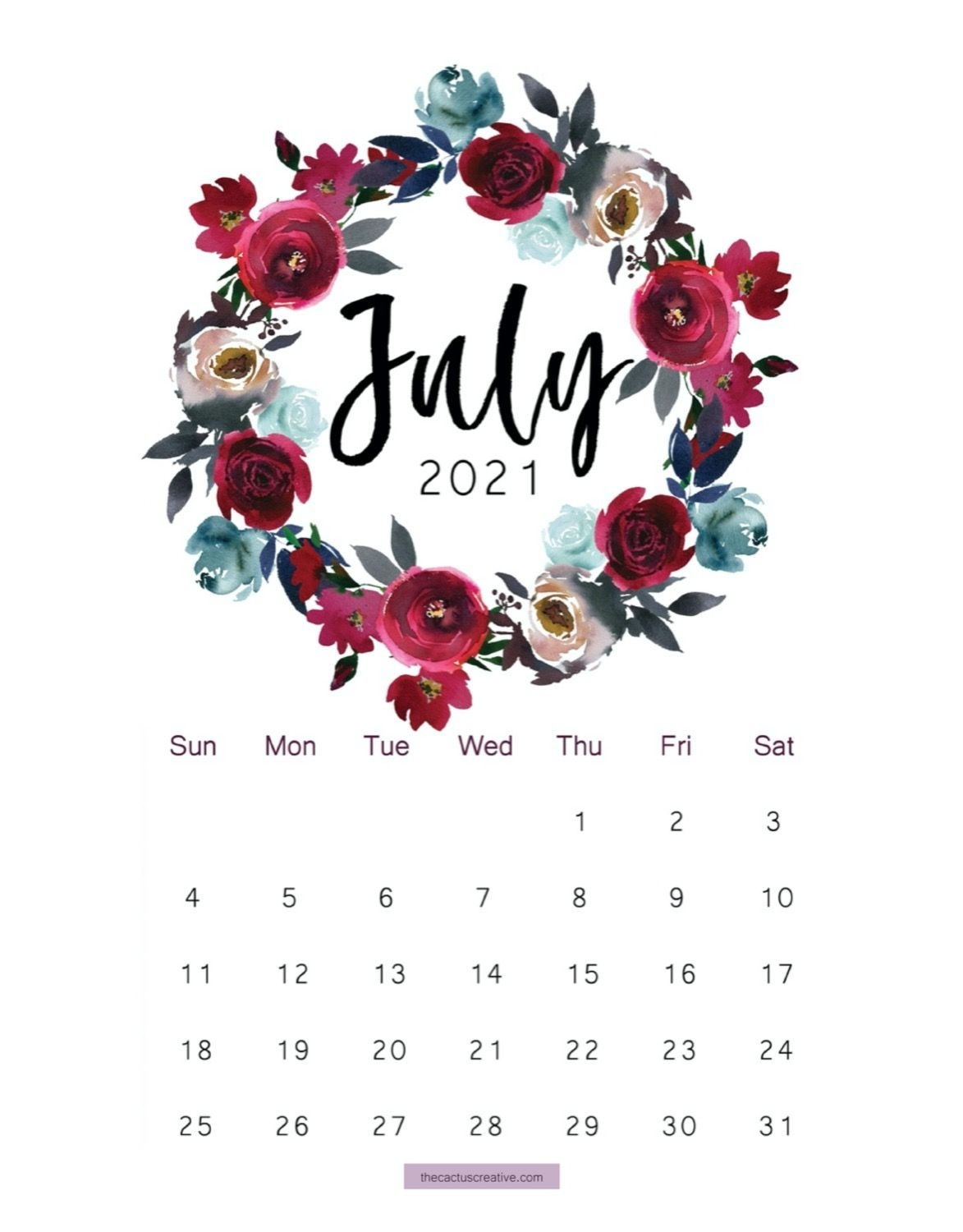 Get Printable Disney Calender July 2021